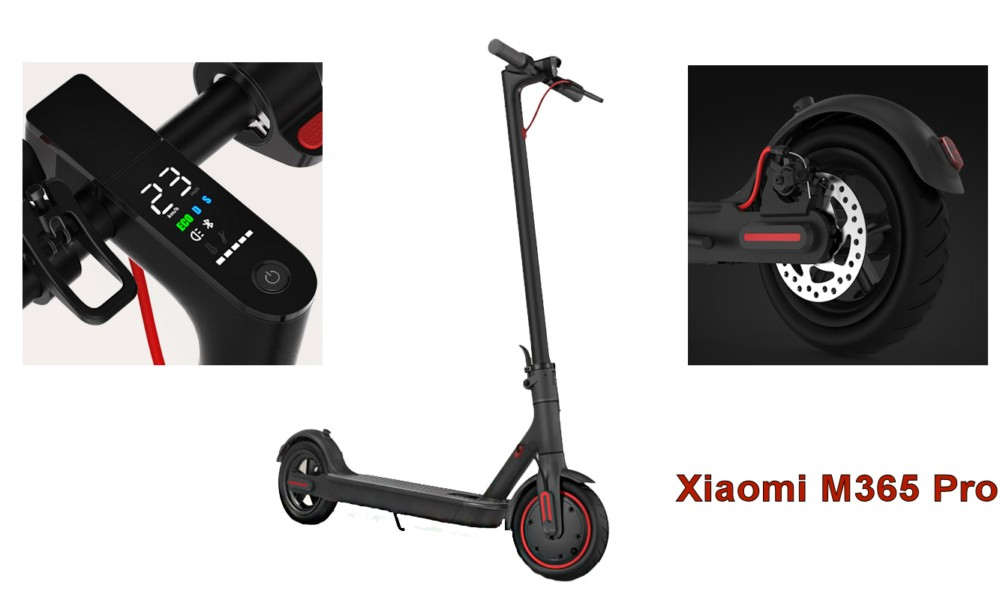 Электросамокат Xiaomi M365 Mijia Electric Scooter Черный